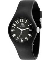 Buy Marea Nineteen Black Silicone Strap Watch online