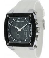 Buy Marea Mens Chronograph White Rubber Watch online