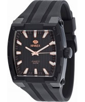 Buy Marea Mens Black Analogue Watch online