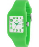Buy Marea Nineteen Green Silicone Strap Watch online