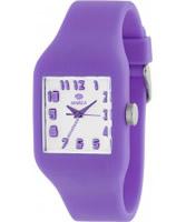 Buy Marea Nineteen Light Purple Silicone Strap Watch online