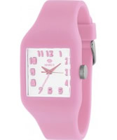 Buy Marea Nineteen Light Pink Silicone Strap Watch online