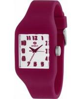 Buy Marea Nineteen Dark Pink Silicone Strap Watch online