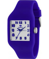 Buy Marea Nineteen Blue Silicone Strap Watch online