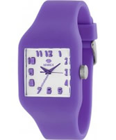 Buy Marea Nineteen Purple Silicone Strap Watch online