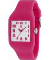 Buy Marea Nineteen Pink Silicone Strap Watch online