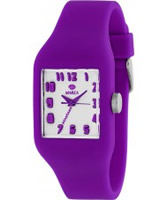 Buy Marea Nineteen Purple Silicone Strap Watch online