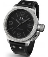 Buy TW Steel Canteen Automatic Black Leather Strap Watch online