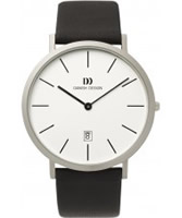 Buy Danish Design Mens White and Black Watch online