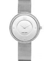 Buy Danish Design Ladies Stone Set Steel Bracelet Watch online