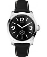 Buy Guess Mens ZOOM All Black Watch online