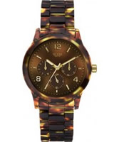 Buy Guess Ladies Mini Spectrum Tortoise Look Watch online