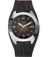 Buy Guess Mens FRAMED Brown Watch online