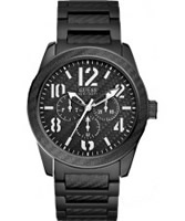Buy Guess Mens PUNCHED Multi Function Watch online
