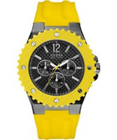 Buy Guess Mens OVERDRIVE Yellow Watch online