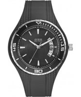 Buy Guess Mens FIN Black Watch online