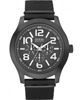 Buy Guess Mens RUGGED Black Watch online