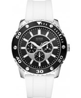 Buy Guess Mens WEB White Watch online