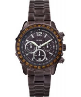 Buy Guess Ladies LADY B Chronograph Bronze Watch online